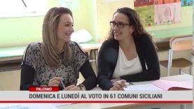 Palermo. Domenica e lunedì al voto in 61 comuni siciliani