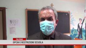 Palermo. Dpcm e restrizioni scuola