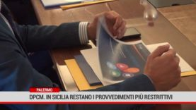 Palermo. Dpcm, in Sicilia restano i provvedimenti più restrittivi