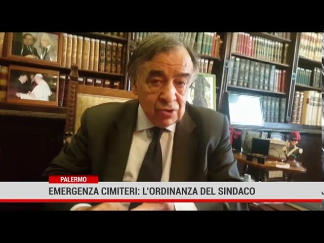 Palermo. Emergenza cimiteri, l'ordinanza del sindaco Orlando