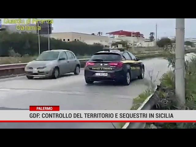 Palermo. Gdf: Controllo del territorio e sequestri in Sicilia