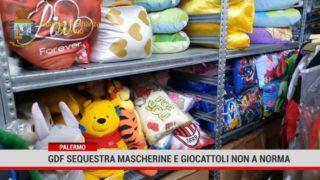 Palermo. Gdf sequestra mascherine e giocattoli non a norma