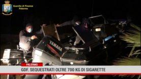 Palermo. Gdf: sequestrati oltre 700 kg di sigarette