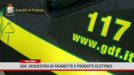 Palermo. Gdf: sequestro di sigarette e prodotti elettrici