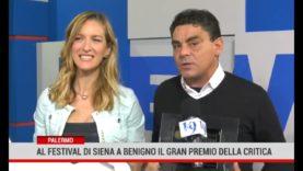 Palermo: Grande successo al Terra di Siena Film Festival per Benigno e gran premio della critica