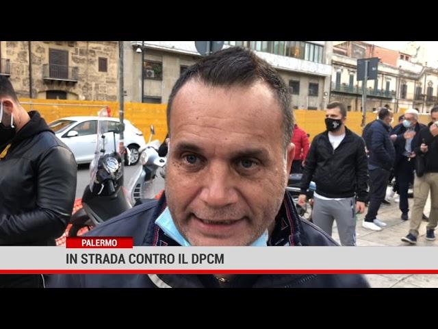 Palermo. In strada contro il Dpcm