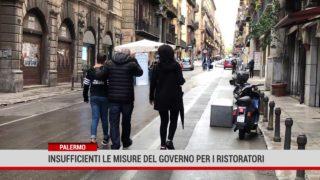 Palermo. Insufficienti le misure del Governo per i ristoratori