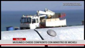 Palermo. Musumeci chiede confronto con ministro De Micheli