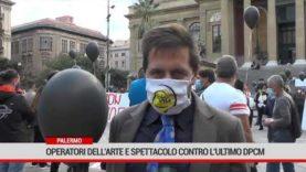 Palermo. Operatori dell'arte e spettacolo contro l'ultimo Dpcm