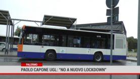"""Palermo. Paolo Capone Ugl: """" no a nuovo lockdown"""""""