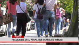 Palermo.Presidente Ersu ai ragazzi: scaricate Immuni