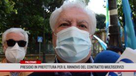 Palermo. Presidio in Prefettura per il rinnovo del contratto multiservizi