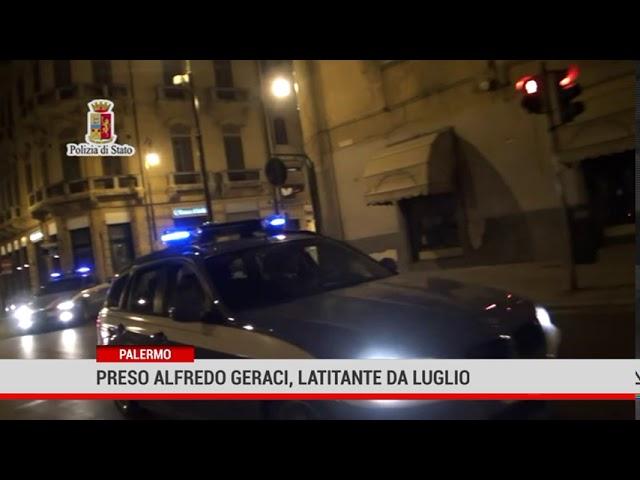 Palermo. Preso Alessandro Geraci, latitante da luglio