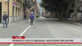 Palermo. Prorogato stato d'emergenza, mascherine obbligatorie