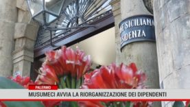 Palermo. Regione, Musumeci avvia la riorganizzazione dei dipendenti