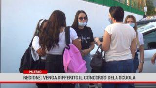 Palermo. Regione: venga differito il concorso della scuola