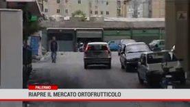Palermo. Riapre il mercato ortofrutticolo