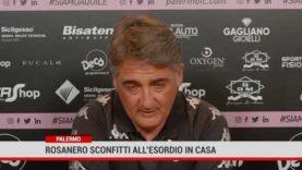 Palermo. Rosanero sconfitti all'esordio in casa