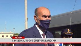 Palermo. S'insedia il nuovo questore Laricchia