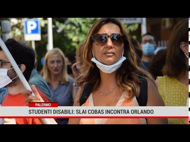 Palermo. Studenti disabili: Slai Cobas incontra Orlando