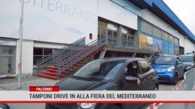 Palermo. Tamponi drive in alla Fiera del Mediterraneo