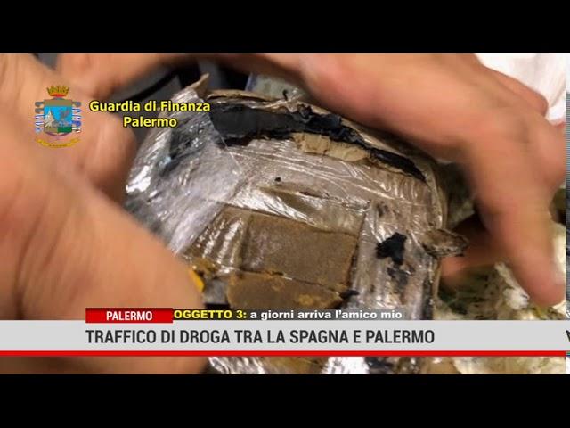 Palermo. Traffico di droga tra la Spagna e Palermo