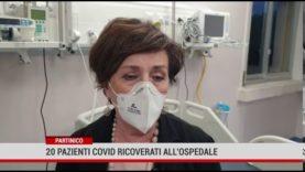 Partinico. 20 pazienti covid ricoverati all'ospedale