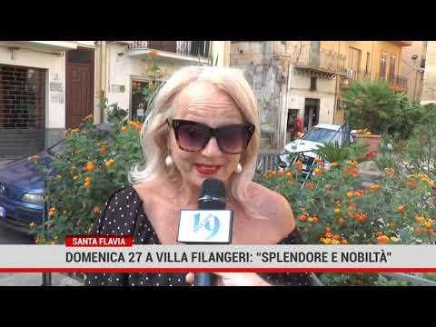 """S.Flavia. Domenica 27 a Villa Filangeri: """" Splendore e nobiltà"""""""