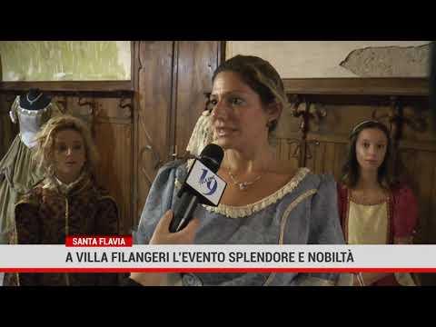 "Santa Flavia. A Villa Filangeri l'evento "" Splendore e nobiltà"""