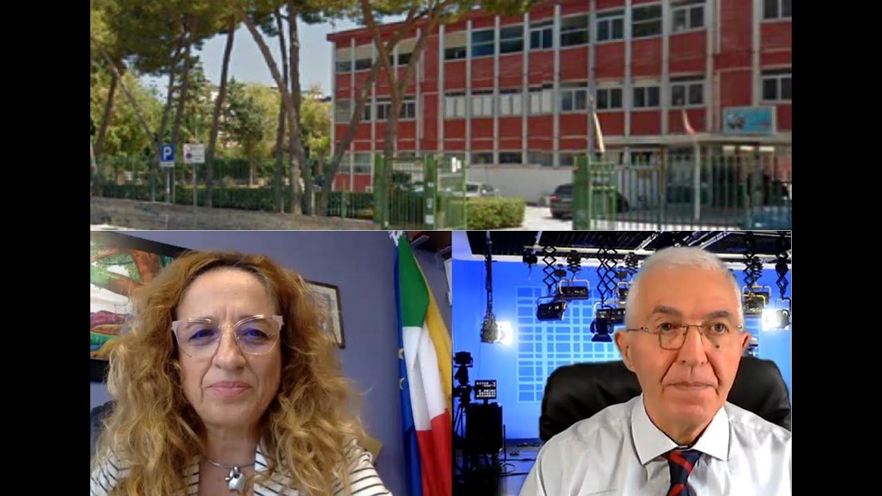 SICILIA SERA FILIPPO CUCINA CON  MARIANGELA AJELLO DIRIGENTE SCOLASTICO I.C.S. SCINA' – COSTA