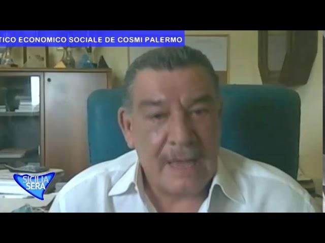 SICILIA SERA FILIPPO CUCINA CON NINNI SCIORTINO PRESIDE  LICEO SCIENZE UMANE LINGUISTICO DE COSMI