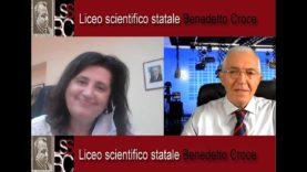 SICILIA SERA FILIPPO CUCINA CON SIMONETTA CALAFIORE  DIRIGENTE SCOLASTICO LICEO SCIENTIFICO  CROCE