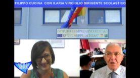 SICILIA SERA FILIPPO CUCINA –  LA PAROLA A ILARIA VIRCIGLIO DIRIGENTE  I.C. G.PPE SCELSA PALERMO.