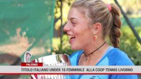 Titolo italiano under 16 femminile per il Tennis Club Palermo.