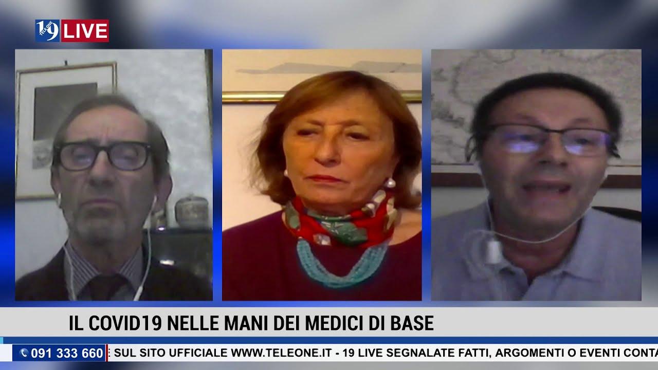 19LIVE COVID19 E MEDICI DI BASE con Dr. G. Imburgia, Dr. B. Di Silvestre e D.ssa S. Fasulo della MMG