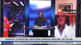#19LIVE – #COVID19, LO STATO DELL'ARTE DEGLI OSPEDALI SICILIANI CON IL PROF. @ROBERTOSPAMPINATO.