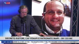 #19LIVE   #DECRETORISTORI, CON @VINCENZOPRESTIGIACOMO DEL CAF #FENAPI E PATRONATO I#NAPI