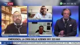 19LIVE EMERGENZA, LA CRISI DELLE AZIENDE, con F.Bentivegna, A.Azzimati,  A.Traina e M.Di Giovanni