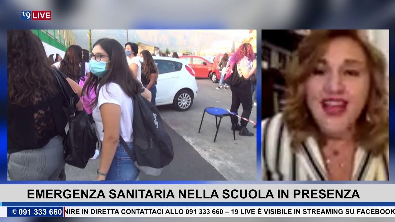 #19LIVE  Emergenza Sanitaria, Scuola in Presenza, con D. Crimi, Caterina Altamore e Evelina Chiocca