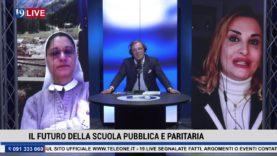 """#19LIVE """"IL FUTURO DELLA SCUOLA PUBBLICA E PARITARIA"""" con @RosaCriscuolo e @SuorAnnaMoniaAlfieri"""