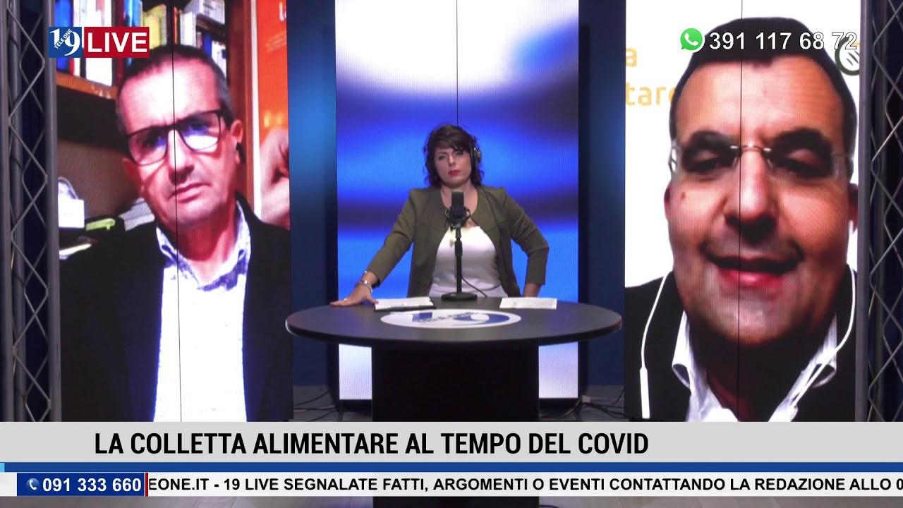 19LIVE   LA COLLETTA ALIMENTARE AI TEMPI DEL COVID