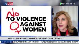 19LIVE – NO TO VIOLENCE AGAINST WOMAN CON D.Crimi e F.Fucarolo