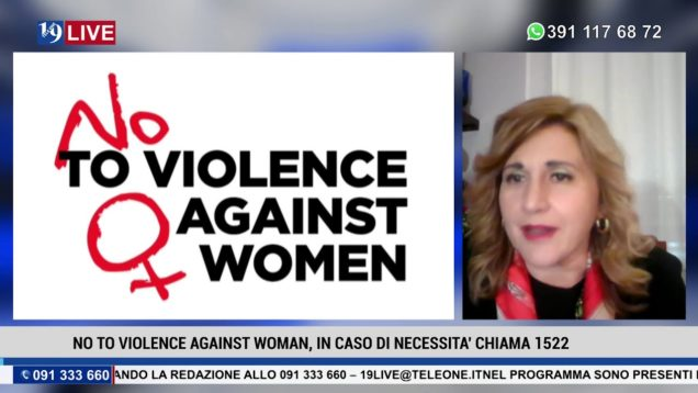19LIVE – NO TO VIOLENCE AGAINST WOMAN CON D.Crimi e F.Fucarolo