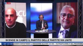 """19LIVE SCENDE IN CAMPO IL PARTITO DELLE """"PARTITE IVA UNITE"""" con Antonio Gigliotti e Victor Di Maria"""