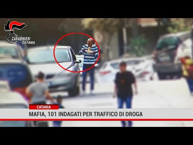 Catania: 101 indagati per traffico di droga