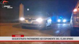 Catania. Sequestrato patrimonio ad esponente al clan Aparo