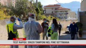 Coronavirus. Drive – in allestititi in tutta la Sicilia: oltre 30 mila tamponi