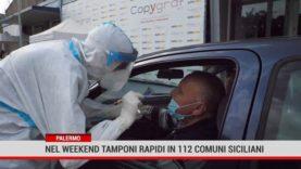 Coronavirus: nel weekend tamponi rapidi in 112 Comuni siciliani