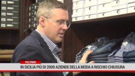 In Sicilia più di 2000 aziendedella moda a rischio chiusura