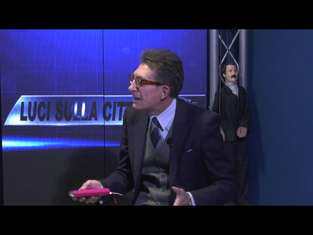 """""""Luci sulla città"""", ospite Angelo Sicilia ed i suoi Pupi antimafia"""
